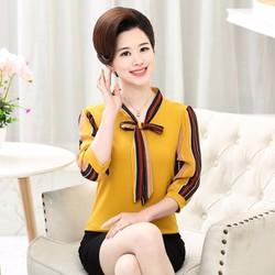 Áo thun nữ dệt kim tay dài hàng nhập cao cấp