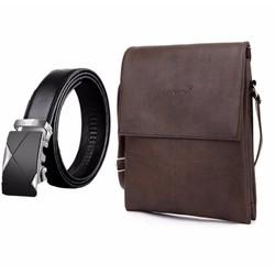 Bộ túi đeo chéo đeo ipad S1 và thắt lưng khóa tự động