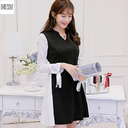 Đầm Xòe Công Sở Đẹp Cao Cấp Thời Trang DRESSIE