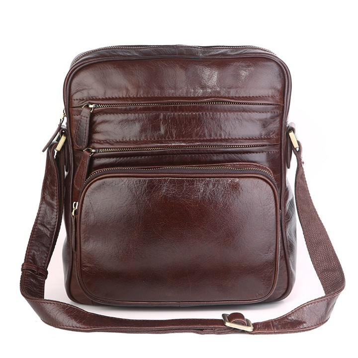 Túi Đeo Chéo iPad Da Bò Xịn SIP054 1