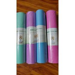 Thảm yoga TPE 6mm cao cấp  tặng túi đựng