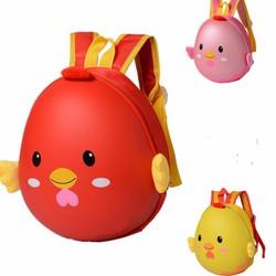 ba lô trứng hình con gà con cho bé đi mẫu giáo