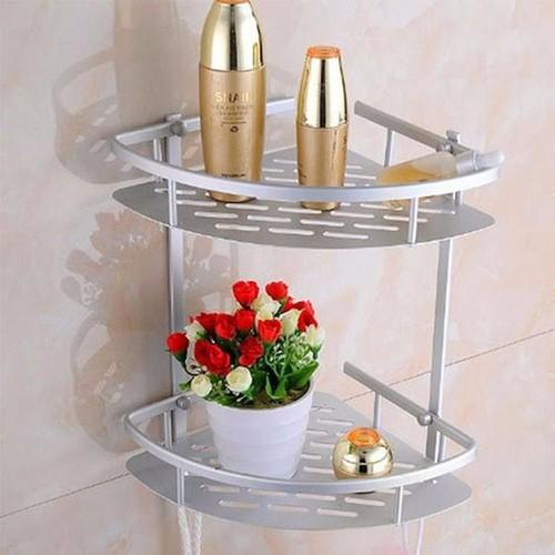 Kệ góc nhà tắm 2 tầng inox - Kệ để đồ nhà tắm 2 tầng - 5578986 , 9403031 , 15_9403031 , 129000 , Ke-goc-nha-tam-2-tang-inox-Ke-de-do-nha-tam-2-tang-15_9403031 , sendo.vn , Kệ góc nhà tắm 2 tầng inox - Kệ để đồ nhà tắm 2 tầng