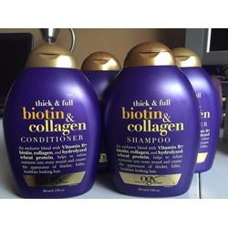 Dầu Gội và Xả Biotin Collagen GOX 385ml - DGX385