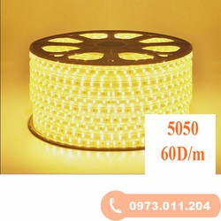 Đèn led dây 5050 220V đơn sắc giá bán theo m