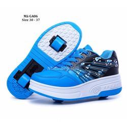 Giày thể thao bánh xe cho bé 4 - 10 tuổi năng động và cá tính