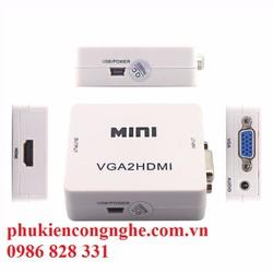 Bộ chuyển đổi VGA to HDMI cao cấp giá rẻ