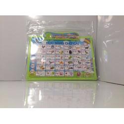 Bảng đọc chữ - Đồ chơi giáo dục KT75