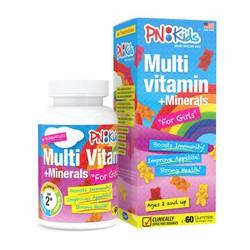 Viên nhai dẻo bổ sung vitamin và khoáng chất