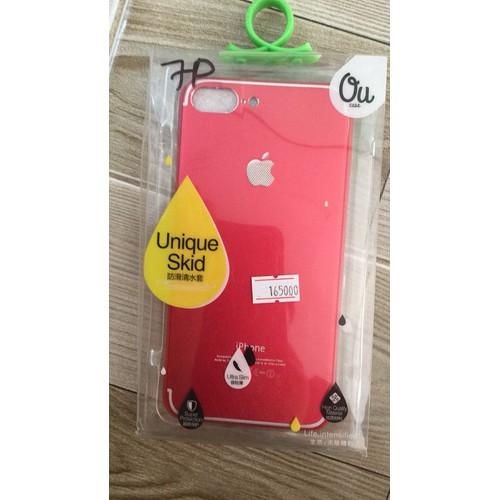 Ốp lưng iPhone 7 Plus Nhuôm Đỏ