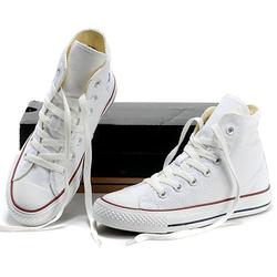 Giày Sneaker Nữ Trắng Cổ Cao