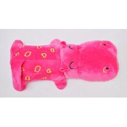 Gấu bông Hà Mã màu hồng Pipobun