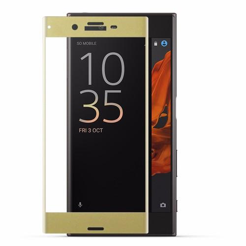 Cường lực Sony-Xperia XZ Full LCD Hoco vàng