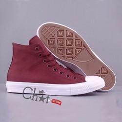 Giày Sneaker Đỏ Nam Cổ Cao Cá Tính
