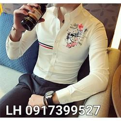 áo sơ mi nam thời trang hàn quốc Y162170