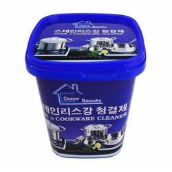 Bộ 2 hộp kem tẩy xoong nồi đa năng bếp ga, đồ gia dụng