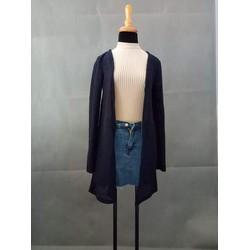 Áo khoác nhẹ form dài
