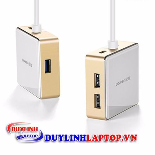Cáp chuyển USB type C to HDMI+USB 3.0, USB 2.0 chính hãng UGREEN 30441