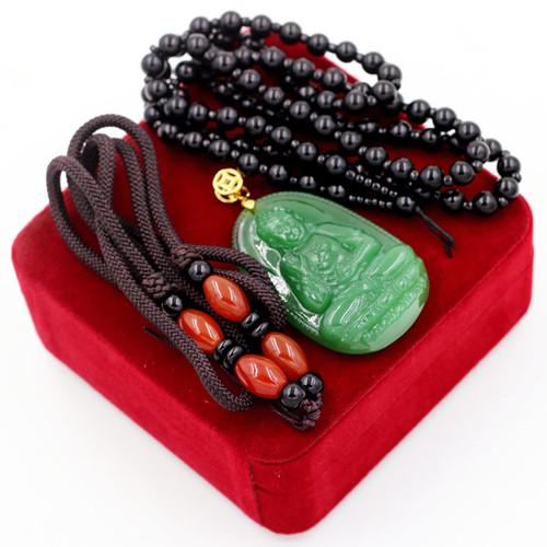 Bộ dây chuyền Phật A Di Đà ngọc tủy xanh - 4356103 , 6082693 , 15_6082693 , 350000 , Bo-day-chuyen-Phat-A-Di-Da-ngoc-tuy-xanh-15_6082693 , sendo.vn , Bộ dây chuyền Phật A Di Đà ngọc tủy xanh