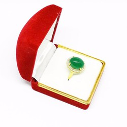 Nhẫn nữ đeo tay đính đá sang trọng|Nhẫn nữ kèm hộp nhung cao cấp