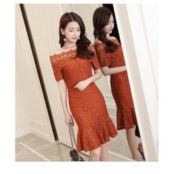 Đầm Ren Ngoại Nhập MLXL250 Hong Kong