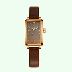 đồng hồ thời trang julius nữ đã ng trọng dây da vuông