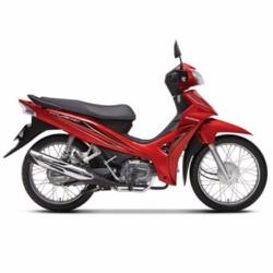 Xe Số Honda Blade 110cc căm thắng đùm - Đỏ đen