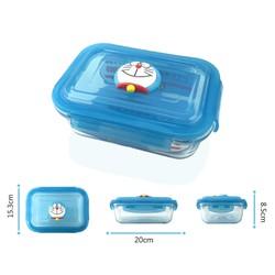 Hộp đựng đồ ăn Doraemon 1020ml KT118