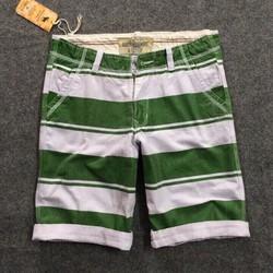 QUẦN shorts NAM SỌC KAKI SỌC NGANG ĐỦ SIZE XM1032