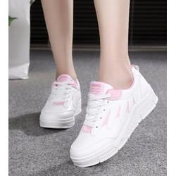 giày sneaker nữ phối màu Mã: GC0178 - HỒNG