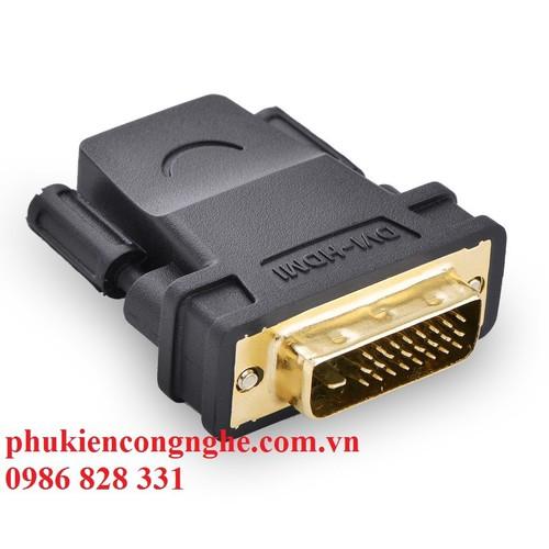 Đầu chuyển đổi DVI 24+1 to HDMI âm chính hãng UGREEN 20124 - 4359315 , 6093290 , 15_6093290 , 90000 , Dau-chuyen-doi-DVI-241-to-HDMI-am-chinh-hang-UGREEN-20124-15_6093290 , sendo.vn , Đầu chuyển đổi DVI 24+1 to HDMI âm chính hãng UGREEN 20124