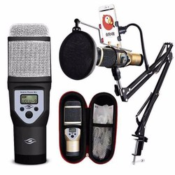 Bộ Micro kèm khung hỗ trợ thu âm và hát karaoke M5