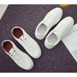 Giày thể thao nữ Hàn Quốc -AL trắng nâu 38