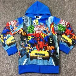 Áo khoác bé trai người nhện Spider Man CC128