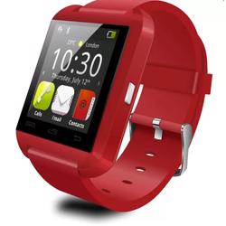 Đồng hồ thông minh bluetooth Smartwatch U8 - Đỏ