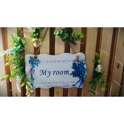 Bảng gỗ my room 01