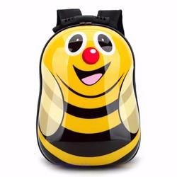 Ba lô nhựa xinh xắn dành cho trẻ em - Ong vàng -Vàng