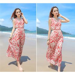 Váy đầm maxi dạo chơi đi biển 04