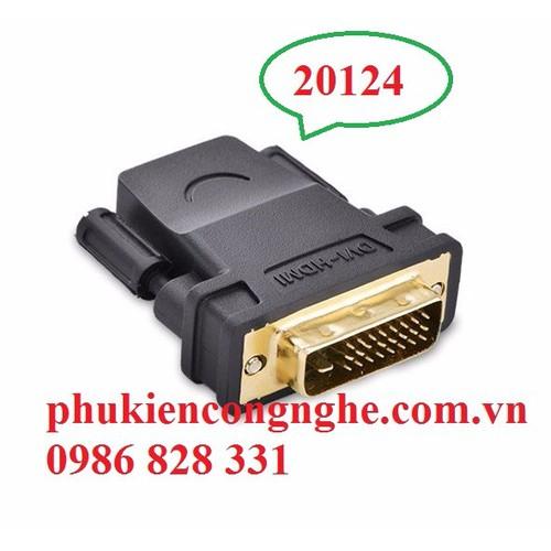 Đầu chuyển đổi DVI 24+1 to HDMI âm chính hãng UGREEN 20124 - 4359308 , 6093127 , 15_6093127 , 120000 , Dau-chuyen-doi-DVI-241-to-HDMI-am-chinh-hang-UGREEN-20124-15_6093127 , sendo.vn , Đầu chuyển đổi DVI 24+1 to HDMI âm chính hãng UGREEN 20124