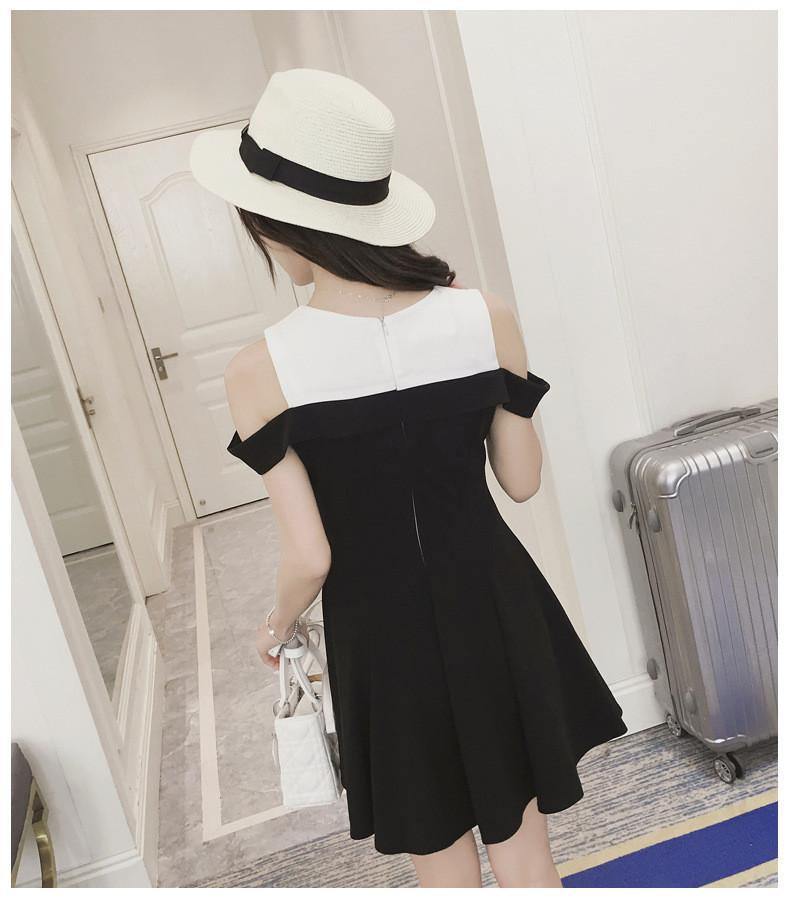 Đầm rớt vai - váy khoét vai -  hàng thiết kế  - đầm đẹp 4