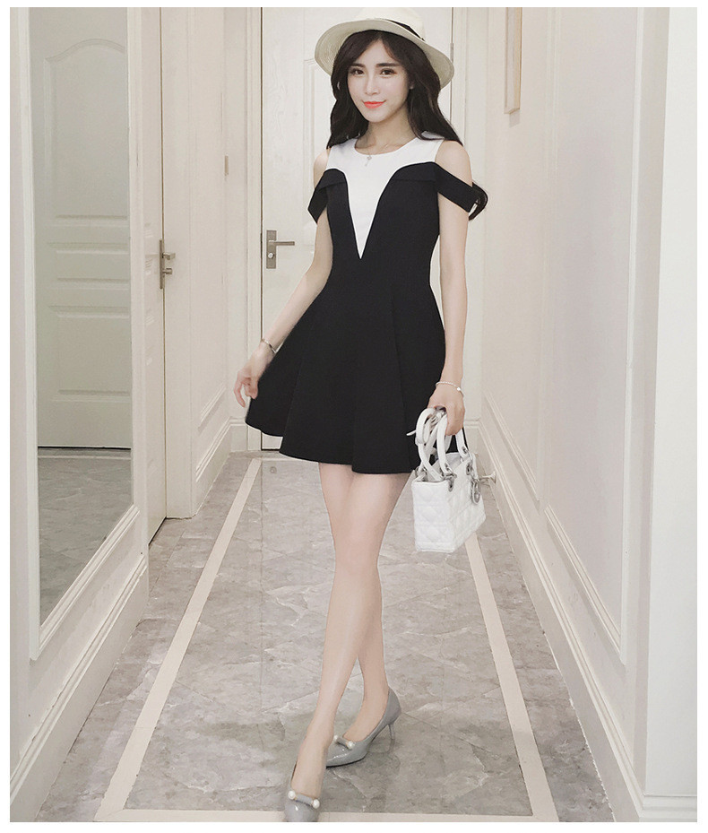 Đầm rớt vai - váy khoét vai -  hàng thiết kế  - đầm đẹp 5