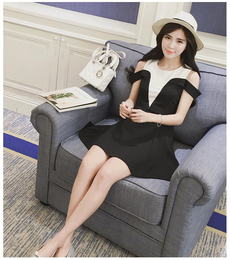Đầm rớt vai - váy khoét vai -  hàng thiết kế  - đầm đẹp 7