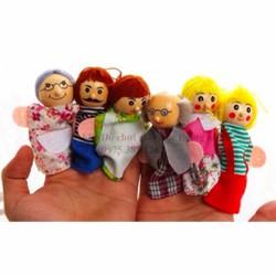 RỐI XỎ NGÓN các nhân vật trong gia đình đồ chơi giáo dục
