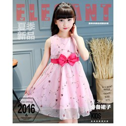 Đầm xèo hoa bé gái 4 - 5 tuổi