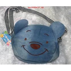 Túi đeo đi học đi chơi gấu pooh đáng iu dễ thương TDHDC37