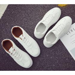 Giày thể thao nữ Hàn Quốc -AL trắng nâu 37