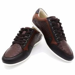 Giày thể thao nam hàng hiệu cao cấp B061-BROWN