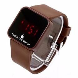 Đồng hồ led cảm ứng thời trang