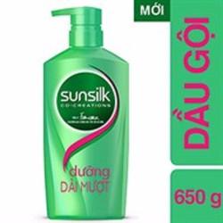 Dầu gội Sunsilk dưỡng dài mượt 650g