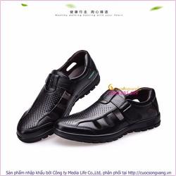 Giày lười nam mùa hè giày nam đế thể thao GLG040